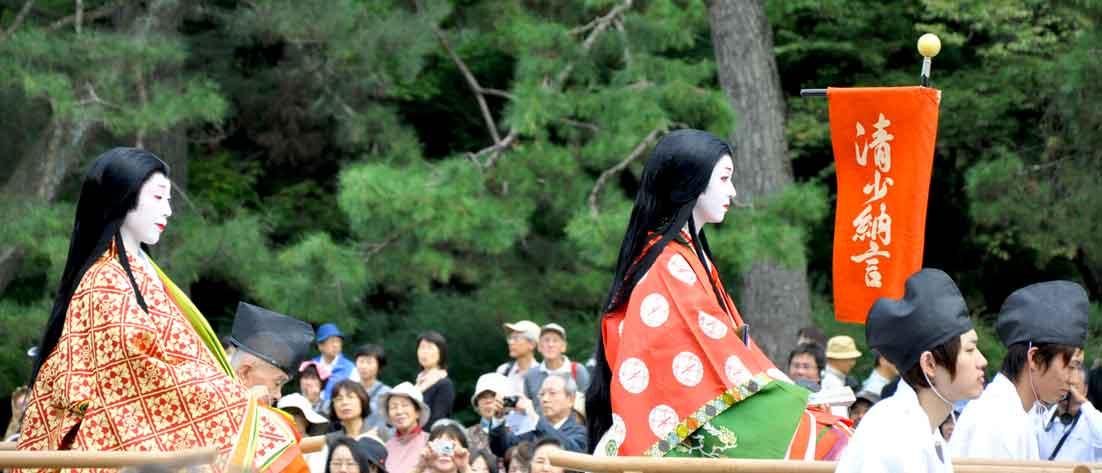 今日の京都は歴史絵巻 ~ 時代祭...