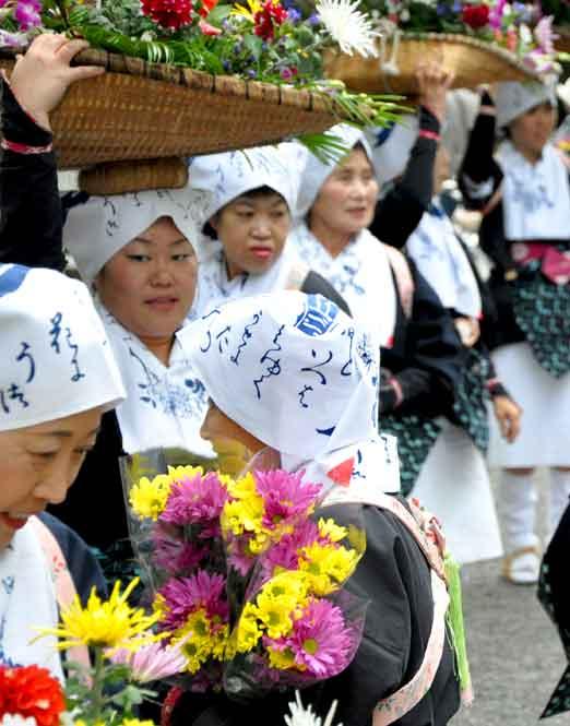 白川女(時代祭)