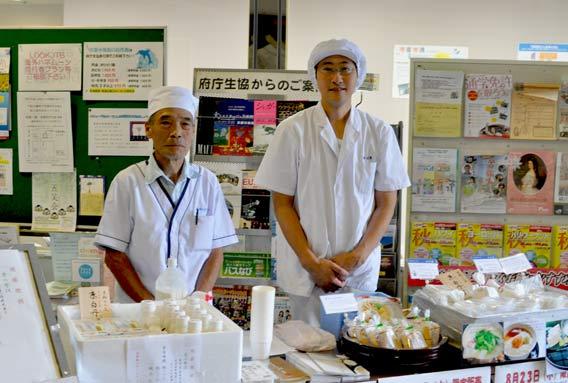 純豆腐の永井社長と私(京都府庁にて)