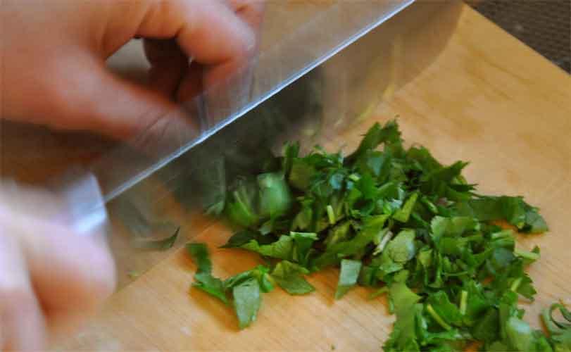 みつ葉(ひきあげゆばご飯レシピ)