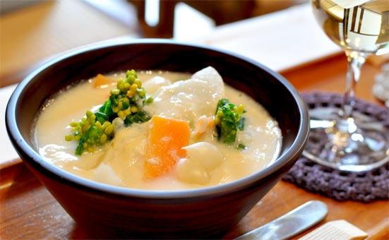 つまみゆばの白味噌ポトフ(レシピ)